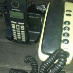 Vintage ψηφιακά τηλέφωνα