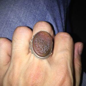 Δαχτυλιδι ασημενιο αντίκα