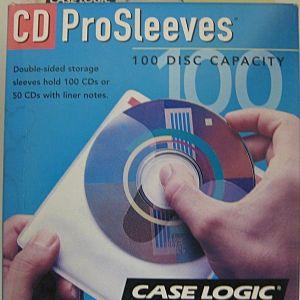 PROSLEEVES 100 DISC CAPACITY