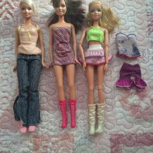 Κούκλες barbie 3