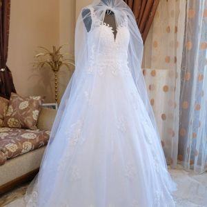 Νυφικό του οίκου Jiouli Wedding Couture, παραγωγής 2020