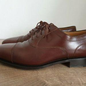 BALLY KENSINGTON Ανδρικα Παπουτσια Δερμα Oxford Shoes Size EUR 41.5 Αυθενικα 100%