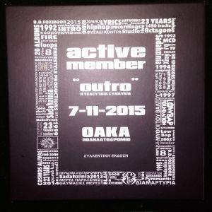 ACTIVE MEMBER BOX 2CD+DVD