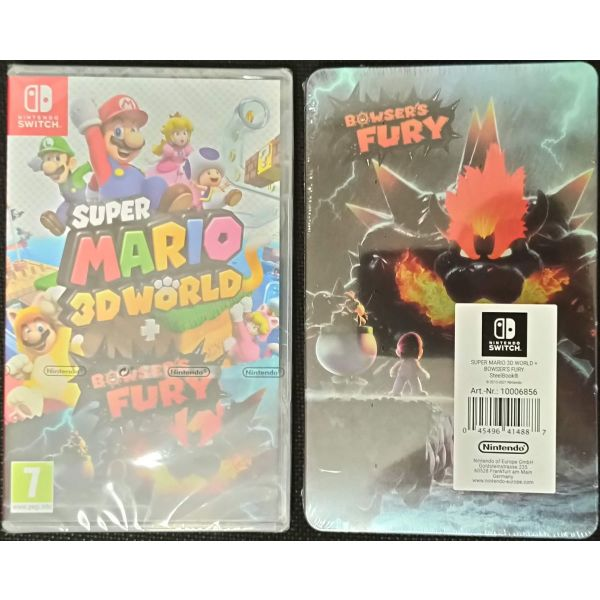 Super Mario 3D World + Bowser's Fury + Steelbook gia Switch