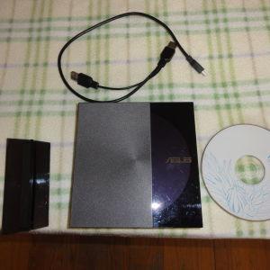 ASUS SDRW-08D3S-U ZEN DRIVE EXTERNAL DVD RECORDER BLACK