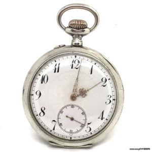 Ρολόι τσέπης Ασημενιο του 1880