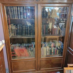 Βιβλιοθήκη με λιονταρίσια ποδια