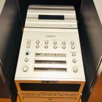Sony compact disc player με ραδιόφωνο και κασέτα Με 2 ηχεία και Subwoofer Σε άριστη κατάσταση Μοντέλο PMC- DR70 L