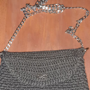Τσάντα πλεκτή, αχρησιμοποίητη