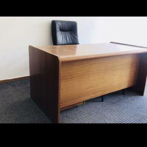 Γραφείο ξύλο μασίφ με συρταριέρα