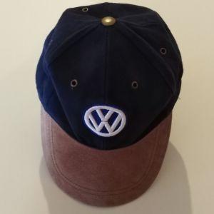 Vintage VOLKSWAGEN Baseball Cap Hat Big Embroidered Logo