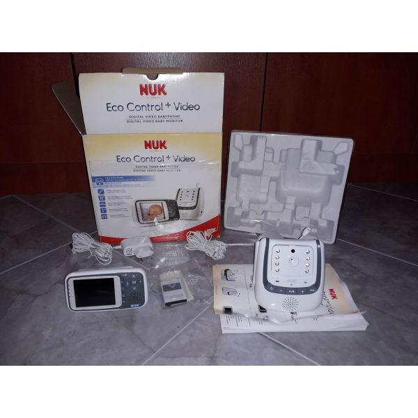 endoepikinonia Nuk Eco Control+ Video Babyphone