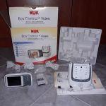 Ενδοεπικοινωνία Nuk Eco Control+ Video Babyphone