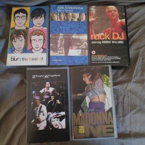 5 Μουσικά VHS