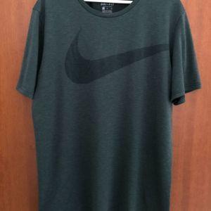 T-Shirt Nike Dri-fit κοντομάνικη μπλούζα σε στενή γραμμή  μέγεθος XL Πράσινο