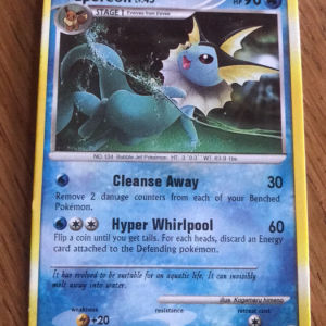 Pokemon card Vaporeon