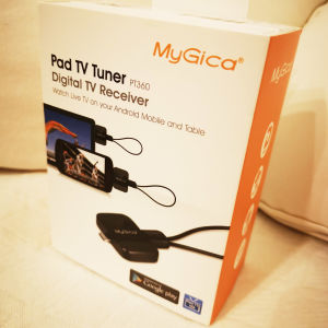 MyGica PadTV PT360, TV receiver for Android