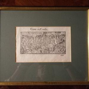 ΚΡΗΤΗ ΑΥΘΕΝΤΙΚΟΣ ΧΑΡΤΗΣ ΤΗΣ ΚΡΗΤΗΣ 1560