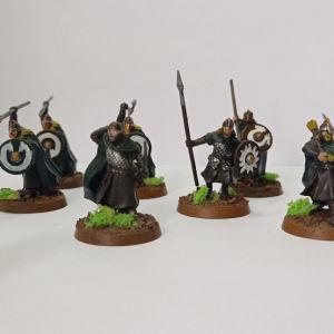 12 rohan warrior game workshop painted