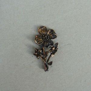 Λουλούδι μεταλλικό, vintage.
