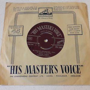 Vinyl record 45 - Νινέτ Λαβάρ Θέμης Ζήσης - Αντίο για πάντα, Η πόλις ερήμωσε