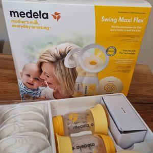 Θηλαστρο Medela Swing Maxi flex, ημερομηνία αγοράς 05/06 , ηλεκτρικό με 2 χοανες +  δωρο σουτιέν (M)