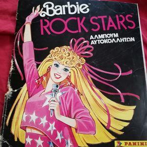 Αλμπουμ Panini Barbie Rock Stars 1986