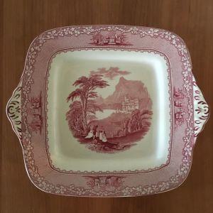 Vintage πορσελάνινο πιάτο Jenny Lind 1795 Royal Staffordshire Pottery England