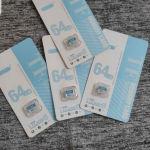 sd card 64 GB καινούργιες κάρτες μνήμης για Όλα τα κινητά