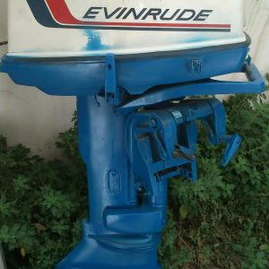 Evinrude fastwin 20hp 2χρονη 360cc