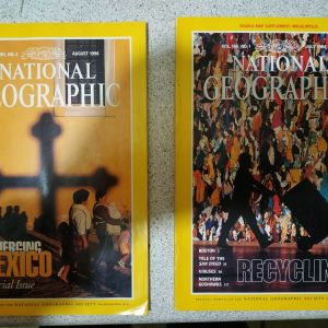 NATIONAL GEOGRAPHIC 1994, 1996