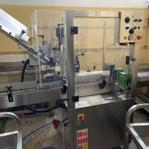 έτικετεζα σε άριστη κατάσταση ελάχιστες ώρες χρήσης, εκτυπωτή Lot ,κάψουλομηχανή , συνδεεται σε αλυσίδα παραγωγής