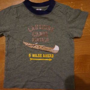 gap μπλουζα για 6-12μηνων