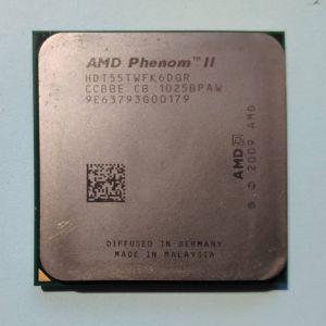 Εξαπύρηνος επεξεργαστής AMD Phenom II X6 1055T (95 Watt) AM3/AM3+