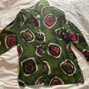 Vintage Πολύχρωμο Γυναικείο Πουκάμισο, Νο1