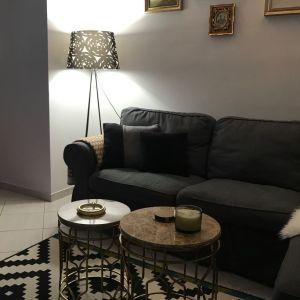 Καναπές Γωνία Γκρι Σκούρο