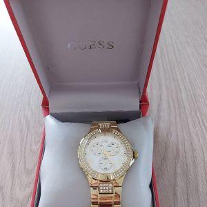 GUESS γυναικείο χρυσό ρολόι !