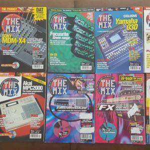 """Περιοδικά """"THE MIX"""" + CD/DVD (UK edition) 18 τεύχη"""