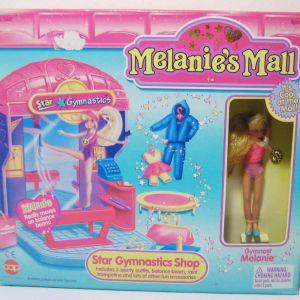 MELANIE'S MALL STAR GYMNASTICS SHOP WITH GYMNAST MELANIE BRAND NEW