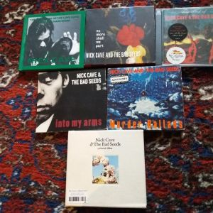 Nick Cave & The Bad Seeds CD Collection