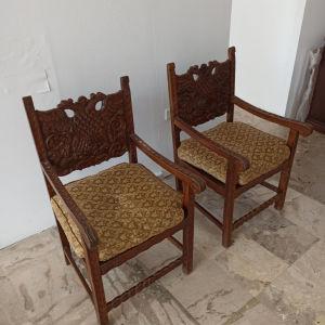 Καρέκλες Σκυριανές με πλαινό μπράτσο