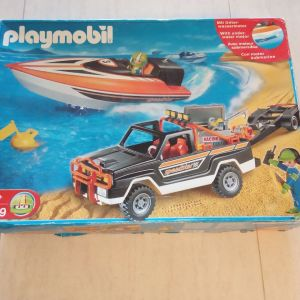 Playmobil 3399 Τζιπ με ταχύπλοο
