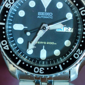 seiko SKX007 vintage divers automatic