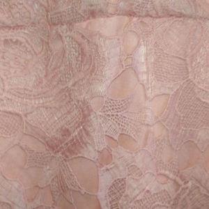 Γυναικείο lace midi φόρεμα σε χρώμα dusty pink