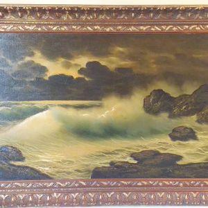 Πίνακας ελαιογραφία του Ιταλού γνωστού ζωγράφου Leonardi