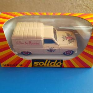μεταλλικο αυτοκ. Solido 1/43 No 1330 Renault 4L Van