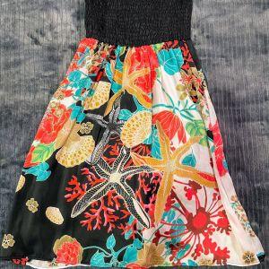 Strapless καλοκαιρινό φόρεμα ZARA, Small μεγέθους