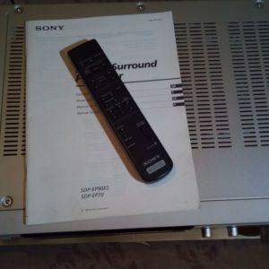 επεξεργαστής πολυκαναλος ES  Sony