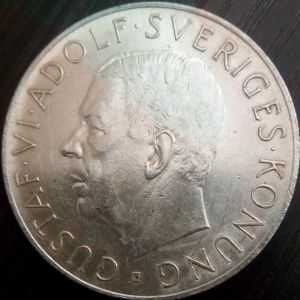 5 Kronor 1952 22.7g  .400 SILVER