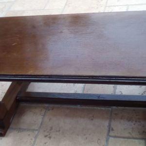 Τραπεζάκι καθιστικού ή σαλονιού μασίφ ξύλο
